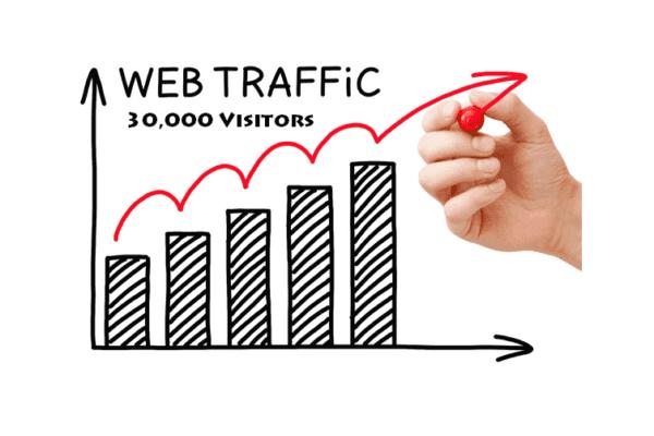 30000 website hits